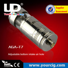 china e cig new products electronic AGA-T7 e-cigarette vaporizer ego e liquid for e cigs