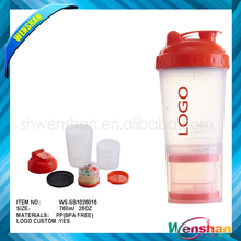 Wenshan Nutrition Powder Sport Shaker Bottle