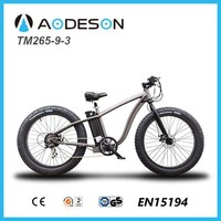 aodeson fat tire chopper bike bicycle hub motor&electric bike TM265-9-3