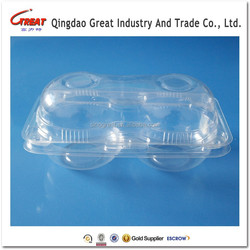 Disposable Feature and Fruit Use Plastic Fresh Apple Box