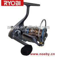RYOBI Spinning reels V-SHAPED LARGE SPOOL telescopic fishing rod and reel