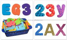 3D Alphabet EVA Foam Stickers