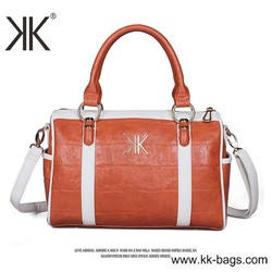 Beautiful leather tote hand bags for lady from China Handbags Manufacturer