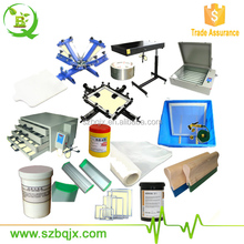 Cheap silk screen printing kit for small business at home BQ42