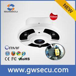 H.264 Onvif 5.0 MP IP Fisheye CCTV Security 360 degree camera