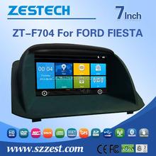Wholesale car fm radios audio multimidea 2 din universal car dvd with gps dvb-t tmc For FORD FIESTA support Phone 3G DVR SWC BT