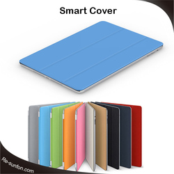 OEM manufacture for ipad cover, auto awake and sleep fuction smart case for ipad cover