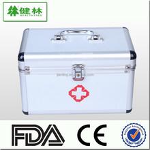 First aid box, Aluminum alloy health care case