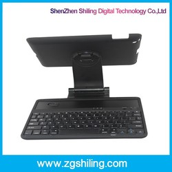for Ipad 3 wireless bluetooth keyboard 360 Degree rotating ABS keyboard