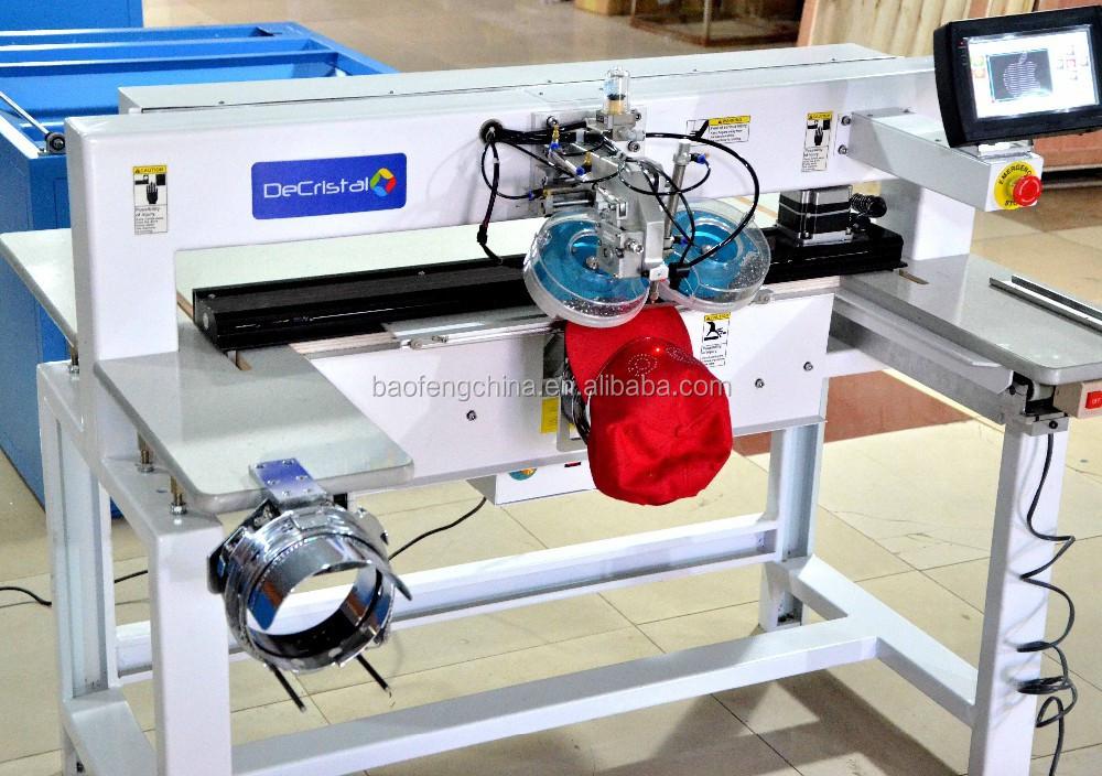 automatic rhinestone setting machine