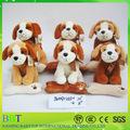 2015 hot venta cute dog toys, peluches venta al por mayor, lindo ordenado perros de peluche