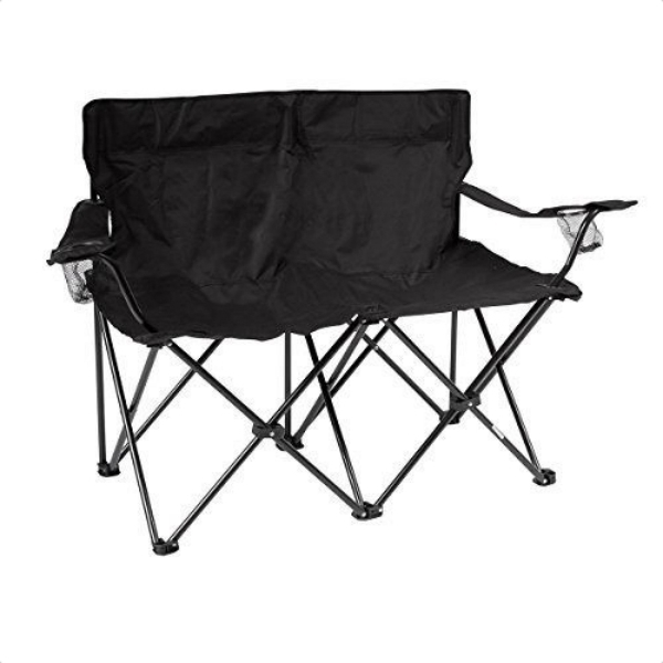 New Trademark Innovations Loveseat Style Double Camp Chair Folds Buy Couple