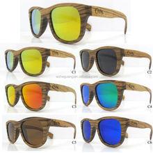 zebra bamboo 2014 hot wooden sunglasses