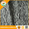 Animal Print Synthetic Fabric Leather For Decoration