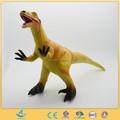 Dinosaurio caminando juguete suave juguetes de goma para los niños Utahraptor dinosaurio