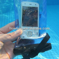 FL2177 2013 Guangzhou hot selling waterproof wristband bag case with earphone for iphone 5