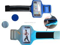 0.8mm/29g TPU+lycra Adjustable sport armband jogging case for Samsung note 4