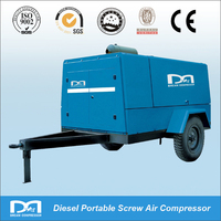 423cfm 101.5psi Double Screw Portable Air Compressor