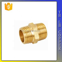 professional manufacturer brass tee pipe F/M/F with nickel plated LB-P9022