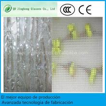 Muro cortina de vidrio de laminados curvados con CE