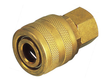 Universal type brass air hose barb quick coupling