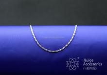 China supplier promotion gunmetal necklace men necklace