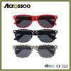 Retro Vintage Dot Printing Sunglasses ,Printed sunglasses