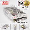 NES Series 200w 15v ac dc output switching power supply