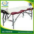 Lettino da massaggio, tavolo pieghevole in alluminio, lettini per massaggi