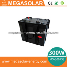 Small Power 300W Portable Solar Power System for Lighting Camping Use