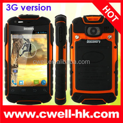 Discovery V5+ 3G Rugged Smartphone Android 4.2 MTK6572W Dual Core 3.5 Inch WIFI Dual SIM