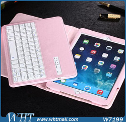 for iPad Pro Case Luxury Leather Accessories with Bluetooth Keyboard