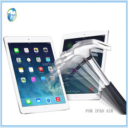 9H Hardness Toughened Clear Tempered Glass Material Screen Protector for Ipad mini/mini 2/air 2