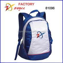 guzi nylon blue & white backpack zoyee