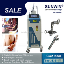 30w Fractional Co2 Laser Surgical Products vaginal applicator with CE