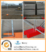 Hot Sale PVC coated construction temporary chain link fence panel/portable fence panels/mobile fence panels