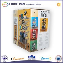 Glossy Large Double Wall Cardboard 5 Layer Carton Box