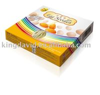 240g Hand Made Egg Flavor Dry Instant Children Noodles