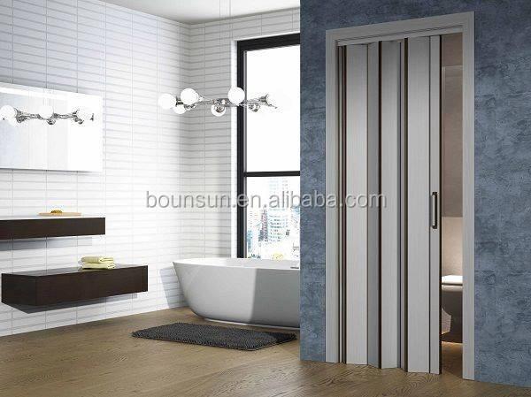 shower room bathroom plastic doors folding door