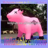 Cow inflatable advertising character