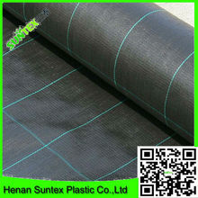 China supplier pp woven fabric plants ground cover, black weed mat,PP woven weed mat/ground cover black fabric/weed barrier