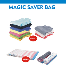 colorful travel vacuum roll-up bag