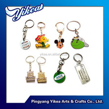 High quality customized wholesale metal keychain engraved