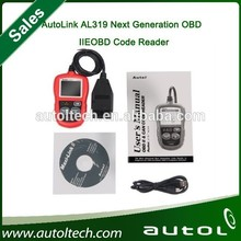 Autel AutoLink AL319 enabling users to verify repairs, road test, check State Emission Monitor Status and solve basic engine