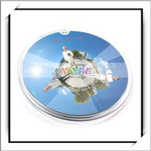 USB 2.0 Hub 5-Port Infrared Mouse Pad/Mat crystal