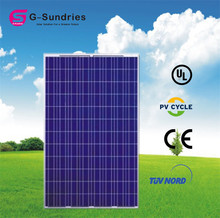 Superior poly 250w photovoltaic thermal solar panel
