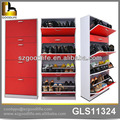 El armario de madera de zapato en material de E1 MDF de goodlife, el organizador de el armario de zapato y alacena.
