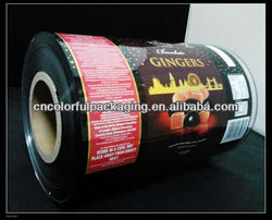 PVC shrink sleeve label and wrap film for toy/wrap film for gift