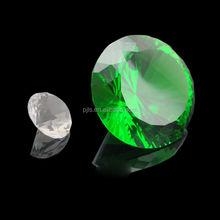 Beautiful fashionable decorative glass gems diamond