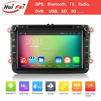 HuiFei new coming car dvd player for vw golf 6 car dvd system gps navigation with 1024*600 touch screen